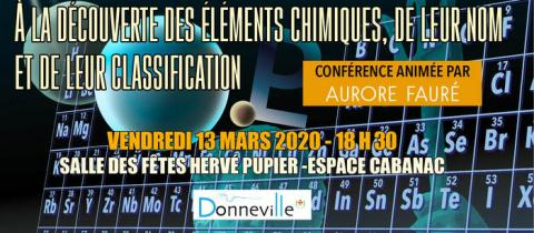 Conférence Chimie